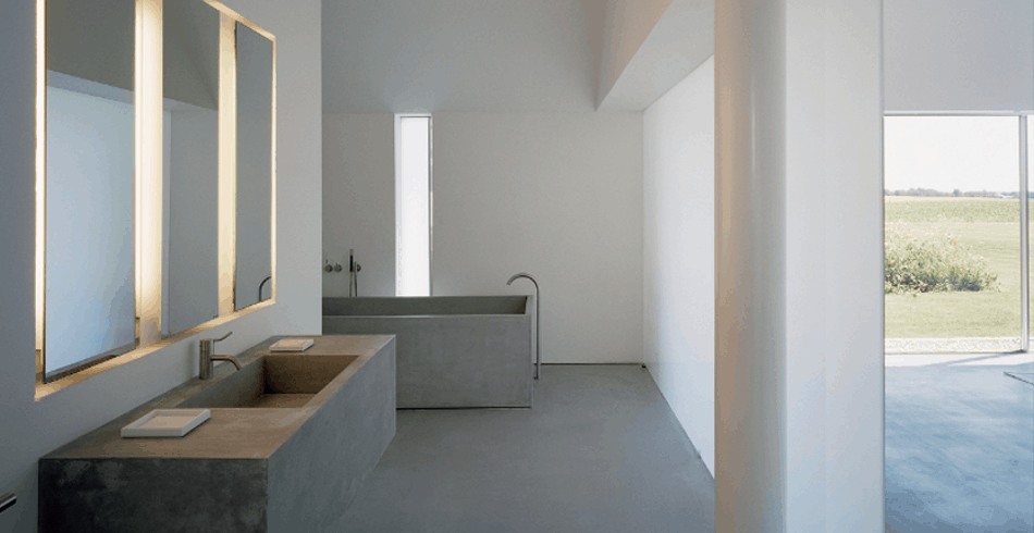 El cuarto de baño Minimalista - Banium