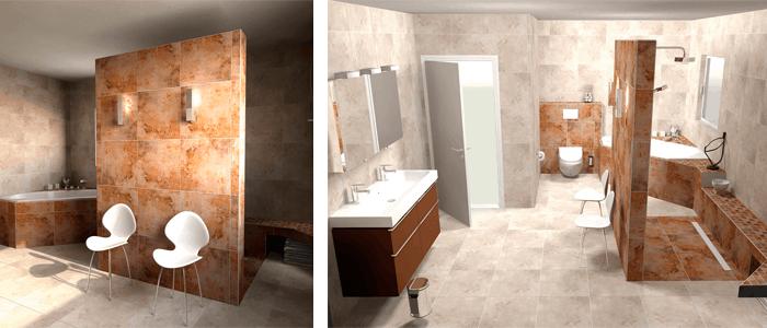 Más de 50 baños de diseño. Ideas y color - Banium