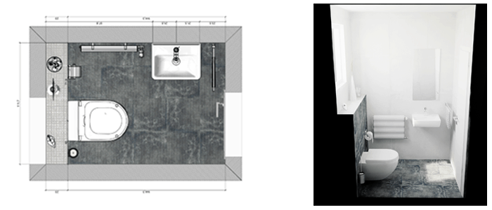 Ideas para aseos pequeos ideas para baos pequeos briggs for Aseos pequenos modernos