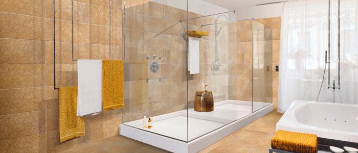 10 tips para cambiar ba era por ducha for Concreto de cera en los azulejos del bano