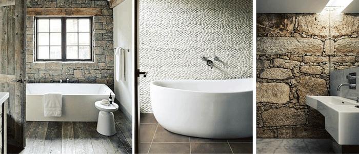 Azulejos para baños modernos, Tipos e Ideas. - Banium