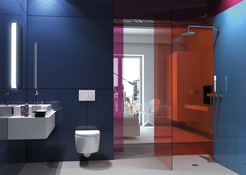 baño moderno hotel