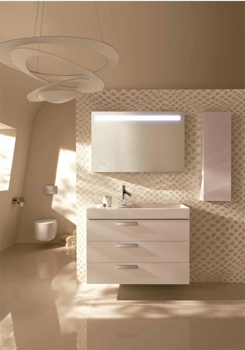 Ideas Baños Pequenos Diseno:Más de 50 ideas de diseños de baños modernos y pequeños