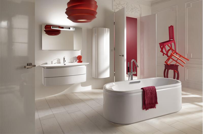 Baños Modernos Rojos: de 50 ideas de diseños de baños modernos y pequeños – BañoP2P