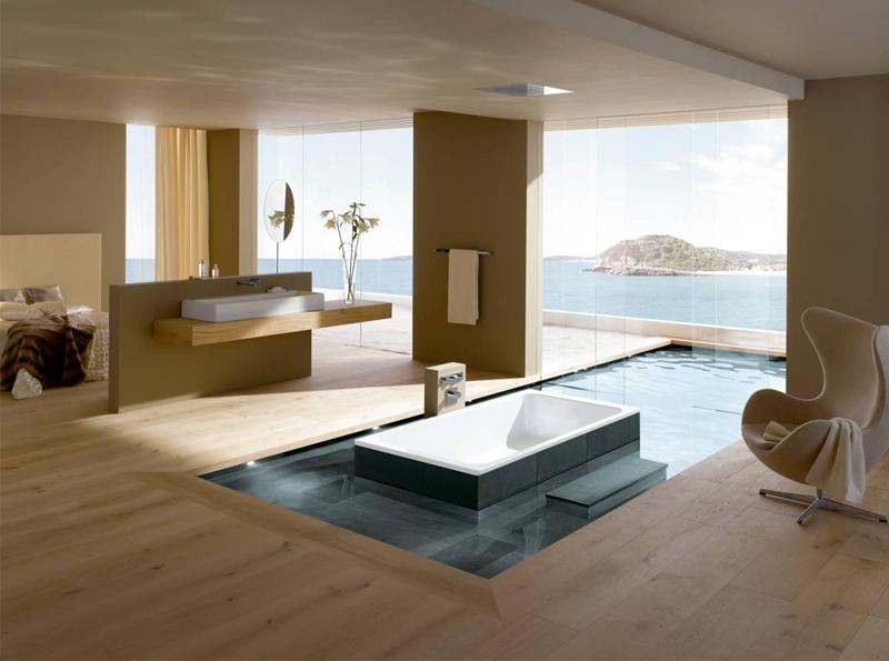 Más de 50 ideas de diseños para baños modernos. grandes   banium