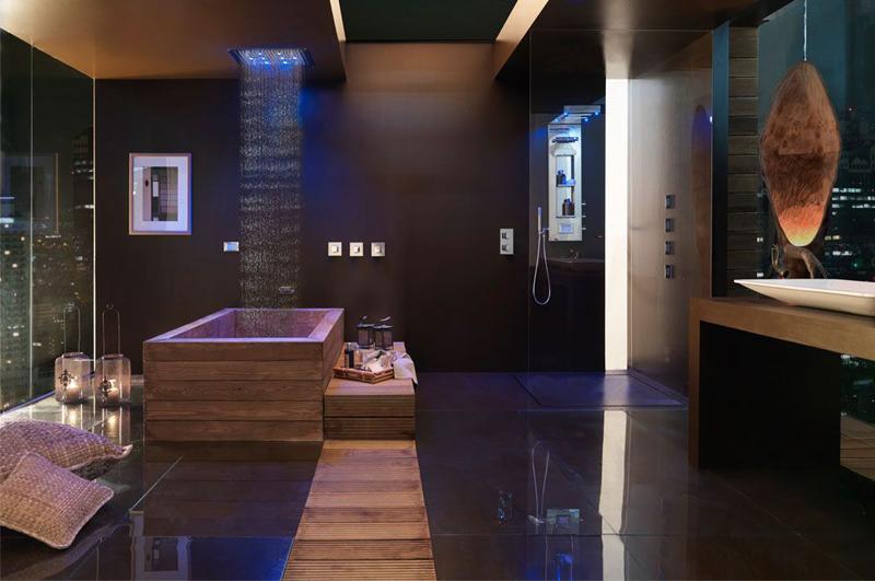 Baño Vestidor Moderno:Más de 50 ideas de diseños de baños modernos y pequeños – Banium