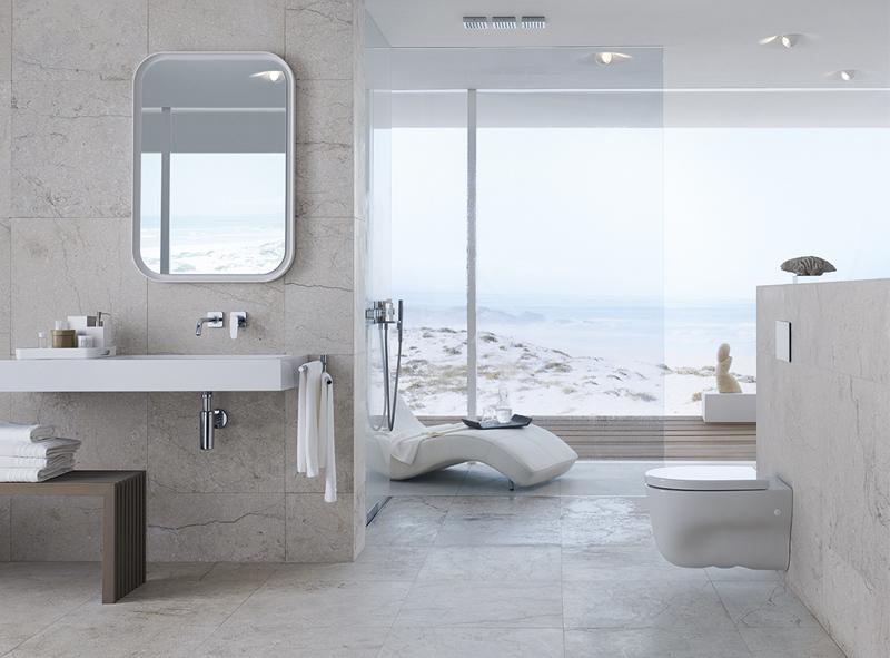 Diseno De Baños Grandes Modernos:Más de 50 ideas de diseños para baños modernos Grandes – Banium