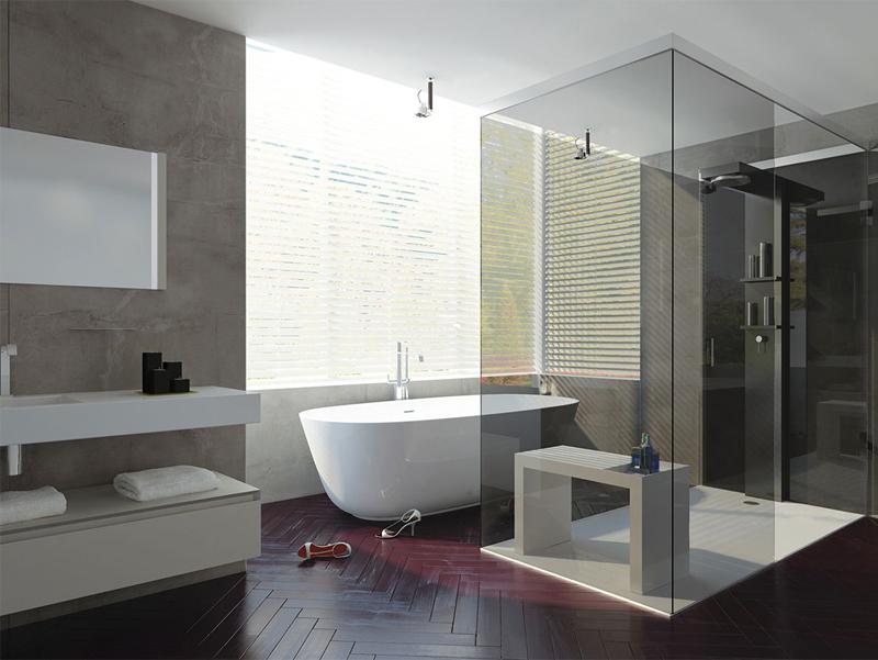 Baños Aseos Modernos:Más de 50 ideas de diseños de baños modernos y pequeños – Banium