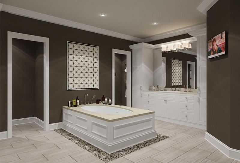 jacuzzi baño moderno