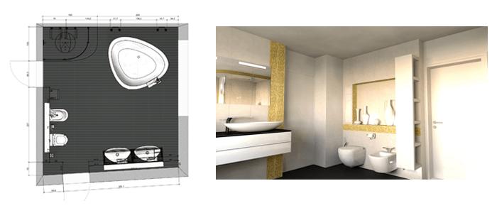 M s de 50 ideas de dise os para ba os modernos grandes for Disenos de banos modernos para casas