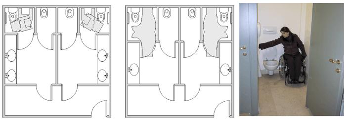 cuarto de baño para minusválidos - banium - Puertas De Bano Para Discapacitados