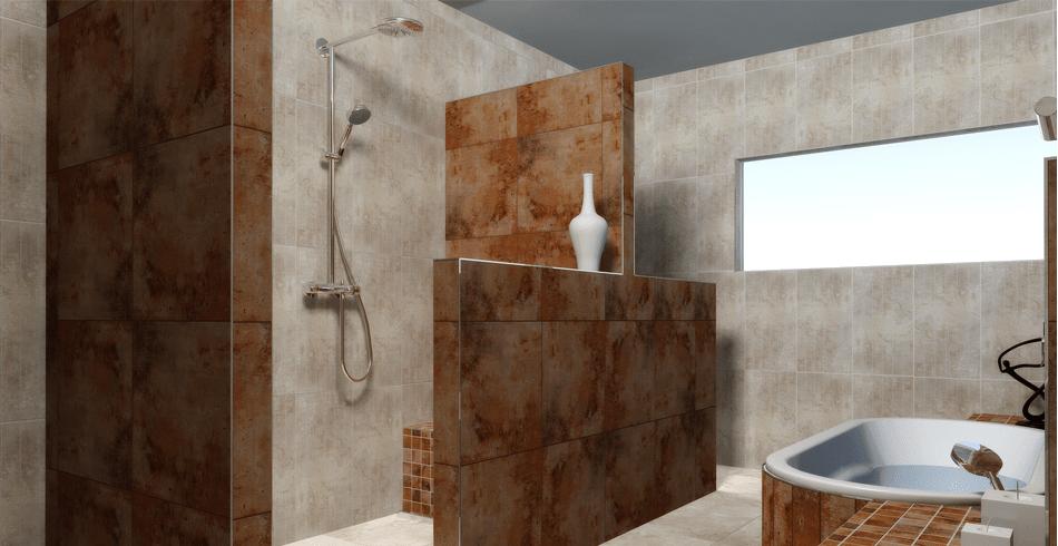 Baño Con Ducha Sin Plato:Plato de ducha o ducha de obra?