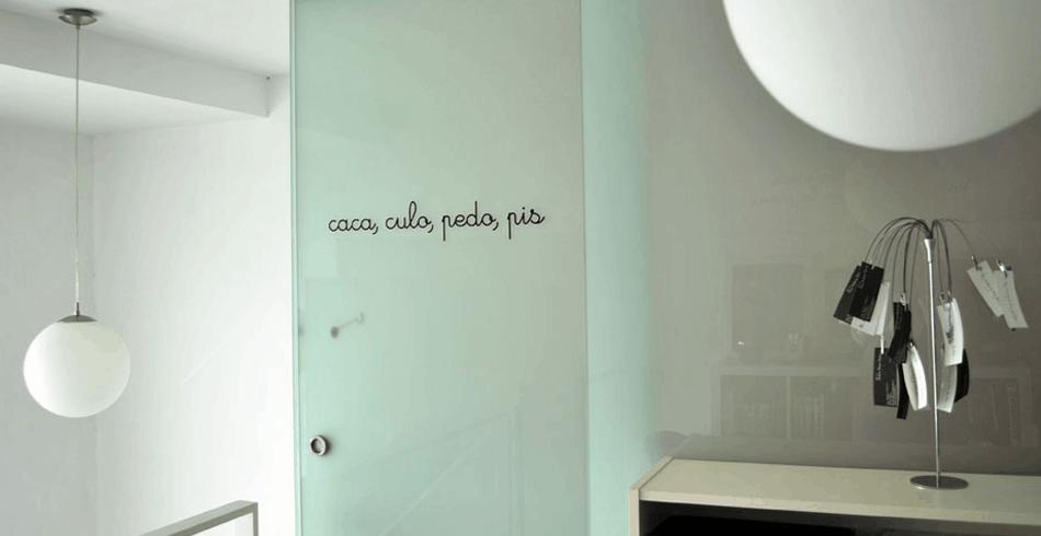 Vinilos decorativos para el cuarto de baño | Banium.com