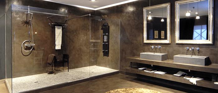 Microcemento para el cuarto de baño - Banium