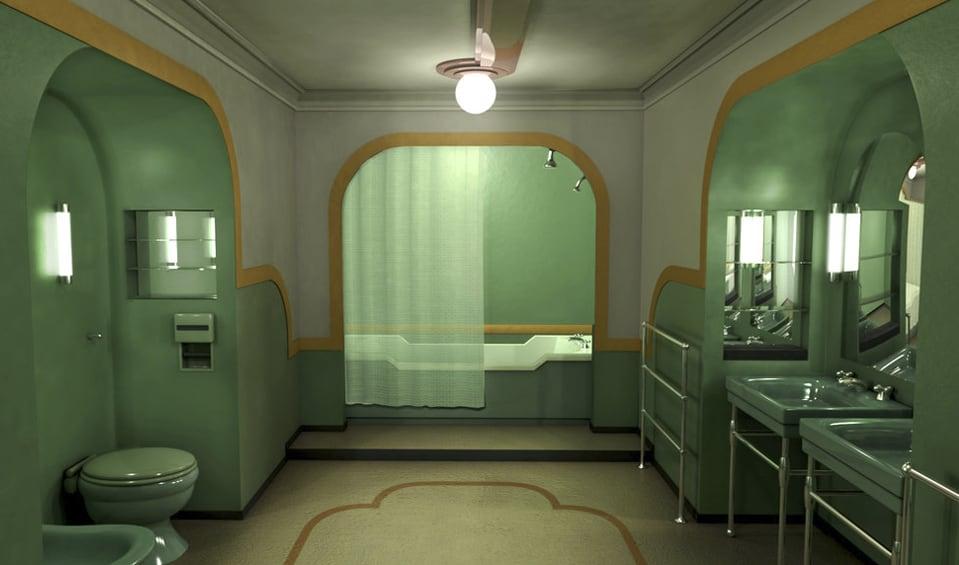 Resultado de imagen de el resplandor bañera