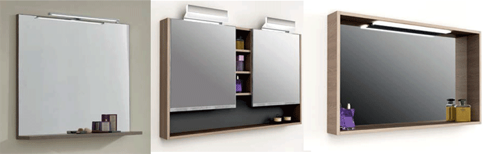 mueble espejos de bao con mueble muebles de bao modernos banium