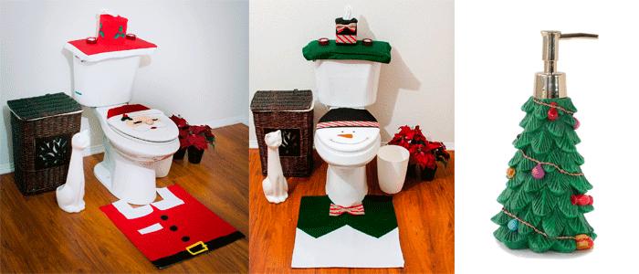 Decorar el baño para Navidad | Banium.com