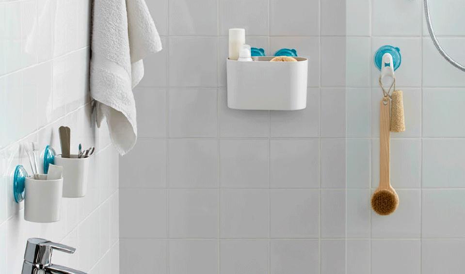 Accesorios De Baño Con Ventosa:Ventosas para baño, una solución de quita y pon – BañoP2P
