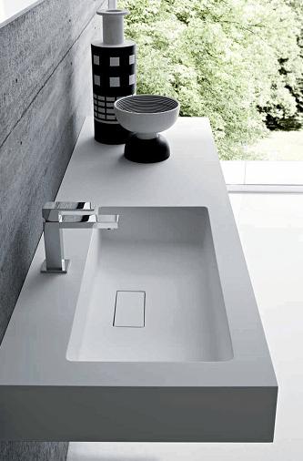 Lavabo Resina Blanco.Lavabos De Resina O Ceramica Para El Bano Banium Com