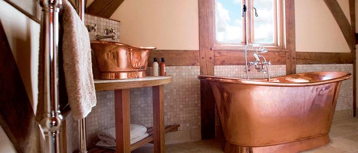 Ejemplos baños rusticos