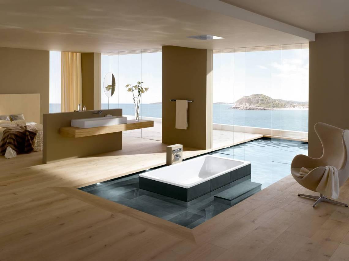 Baños Modernos Tendencias:10 Baños modernos que marcarán tendencia en 2015 – Banium