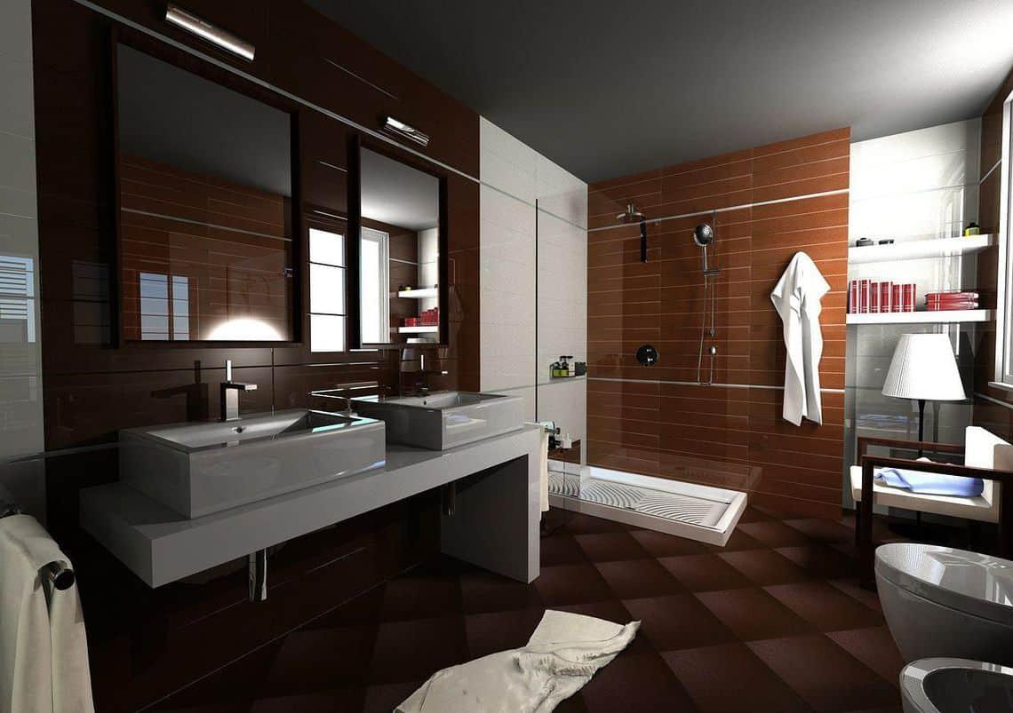 10 ba os modernos que marcar n tendencia en 2015 banium for Diseno de interiores modernos fotos