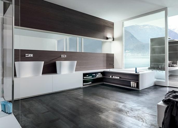 Cuarto De Baño Moderno Fotos:10 Baños modernos que marcarán tendencia en 2015 – Noticias de mujer