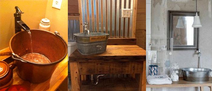 Sanitarios Baño Antiguos:Baños rústicos: Ideas y consejos para su decoración – BañoP2P