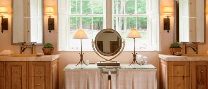 muebles baños rusticos