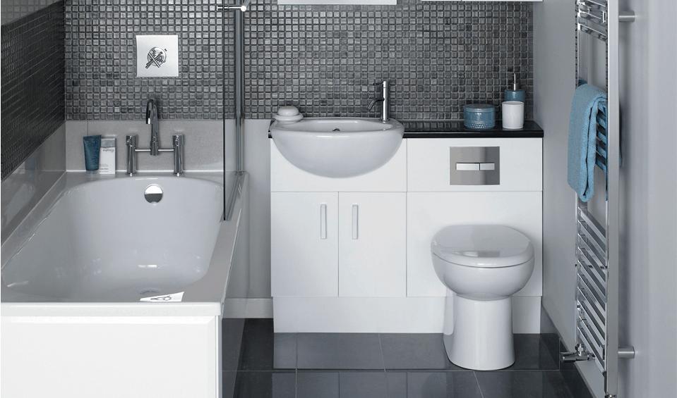 10 consejos sobre baños pequeños que no conocías - Banium