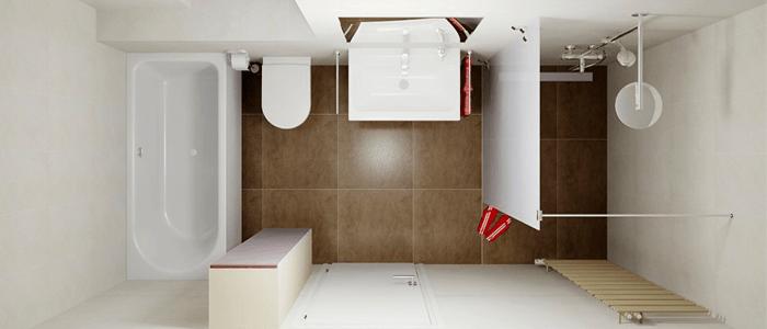 Baño Pequeno Moderno: de 50 ideas de diseños de baños modernos y pequeños – BañoP2P