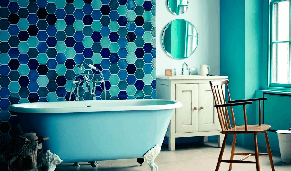 Azulejos Para Baños Gresite:Tipos de azulejos para cuartos de baño – BañoP2P