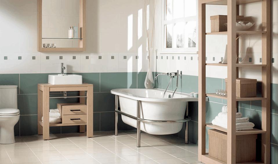 Guía básica de decoración para baños | Banium.com