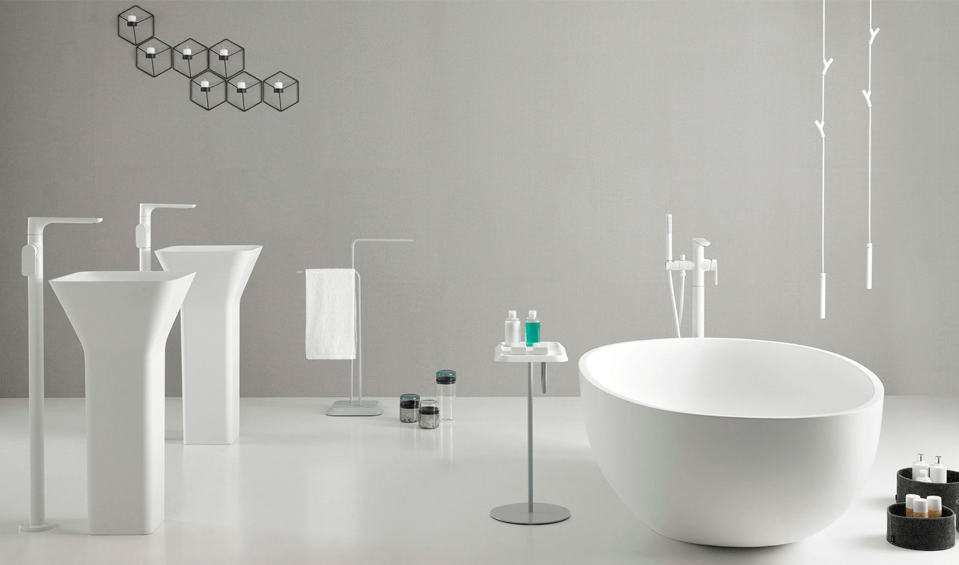 Baños minimalistas - Banium