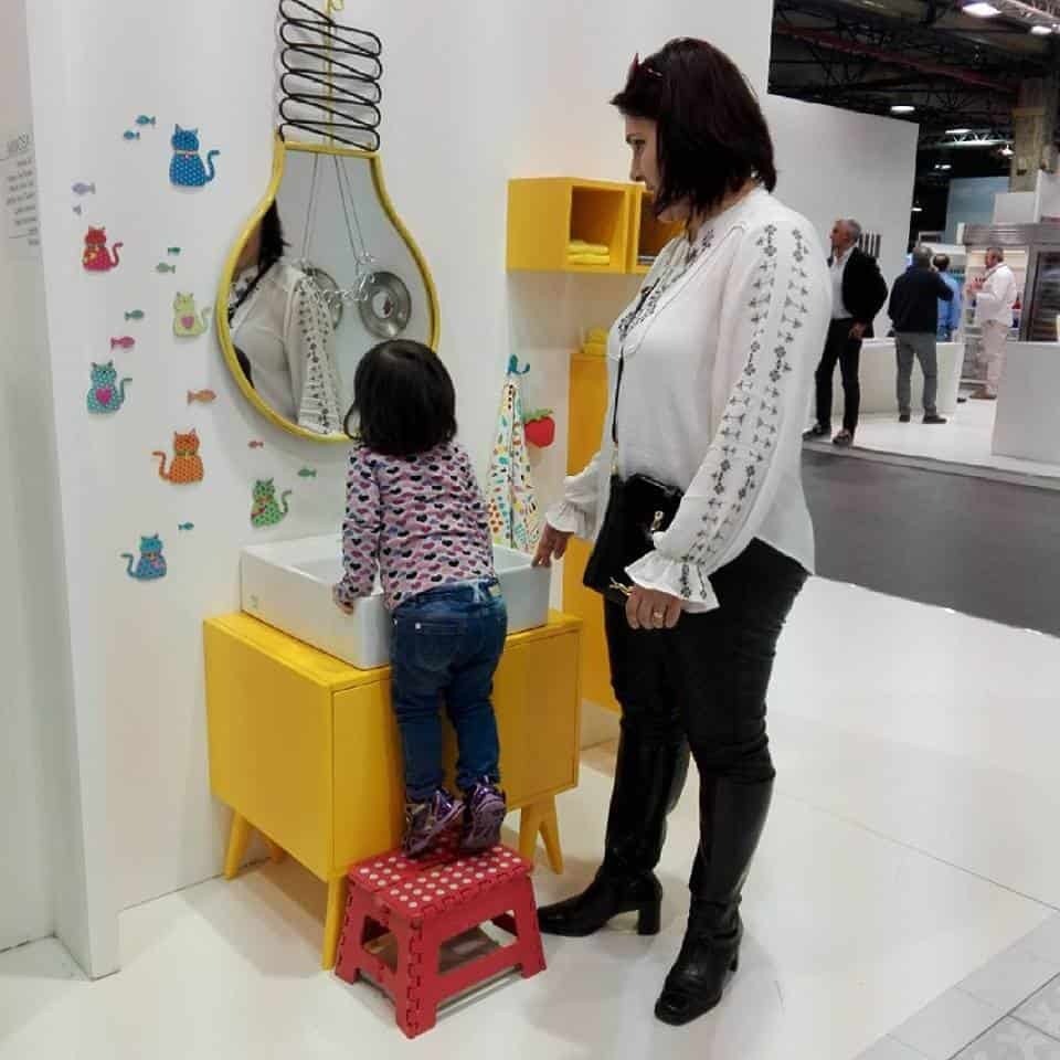 Baño Infantil Corona:Pino Cocinas & Baños sorprende con una línea de muebles para niños