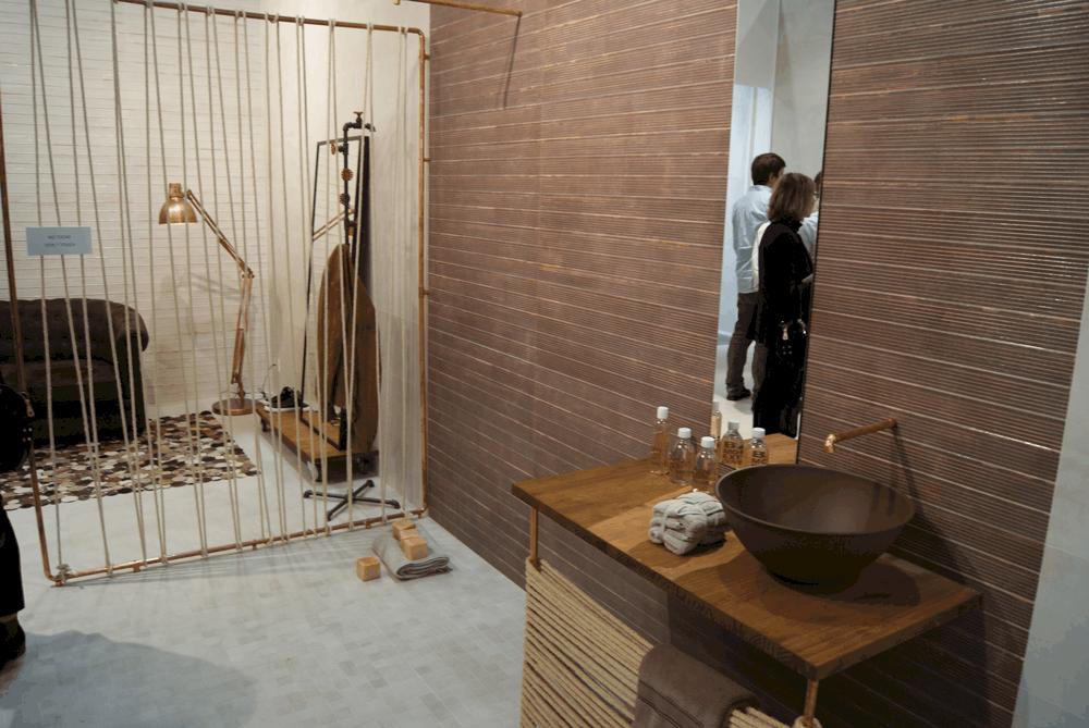 Decoracion Baños Keraben:salones dieciochescos Propuestas cerámicas que emergen de los