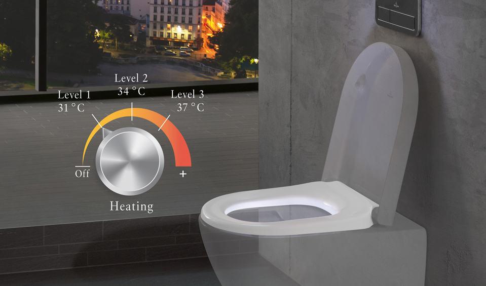 Cuanto Cuesta La Loseta Para Baño:La revolución tecnológica del asiento de inodoro ViSeat por