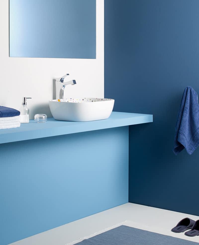 Diseño Pop Art y colores para los cuartos de baño   Banium.com