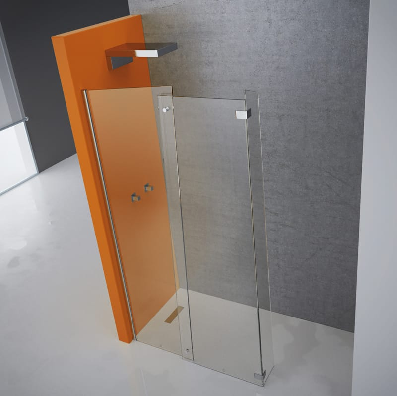 Tipos de mamparas seg n su apertura banium for Tipos de duchas