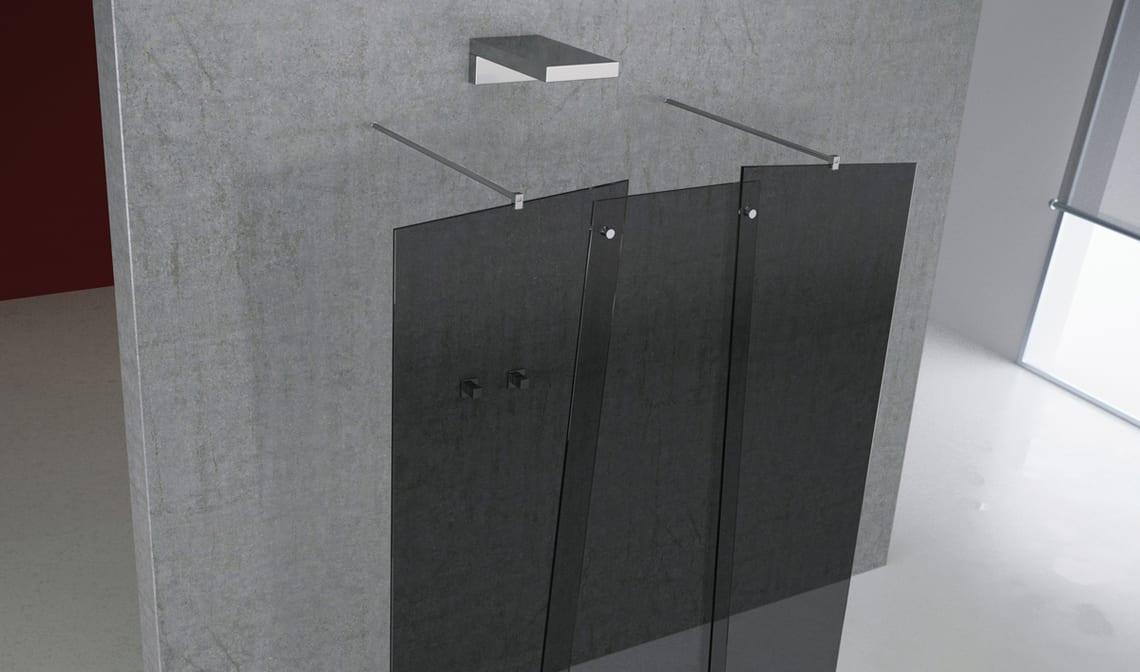 La nueva serie privee de gs2 mamparas de ducha banium - Mamparas de ducha enrollables ...