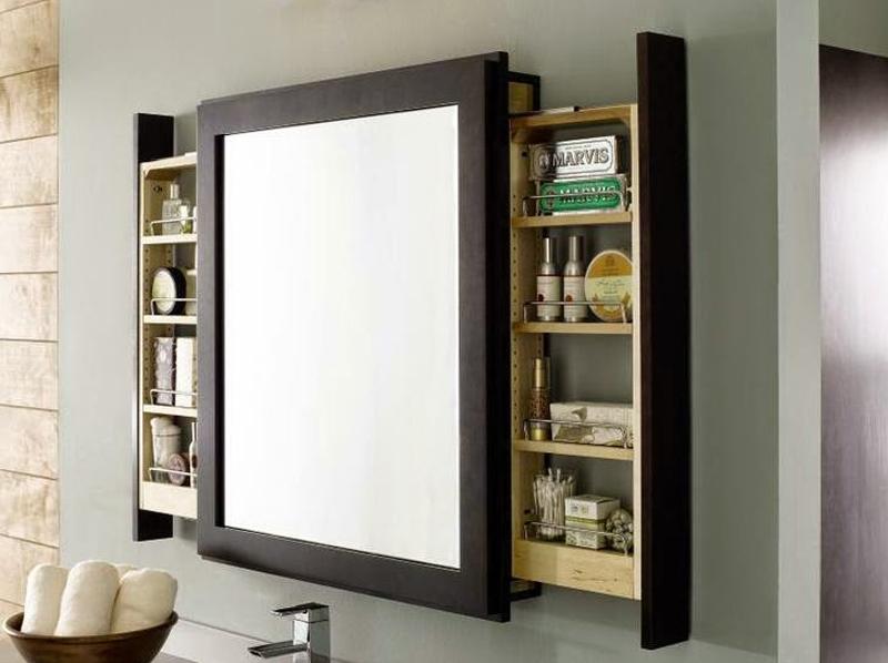 ideas para cuarto de bao pequeo mueble espejo