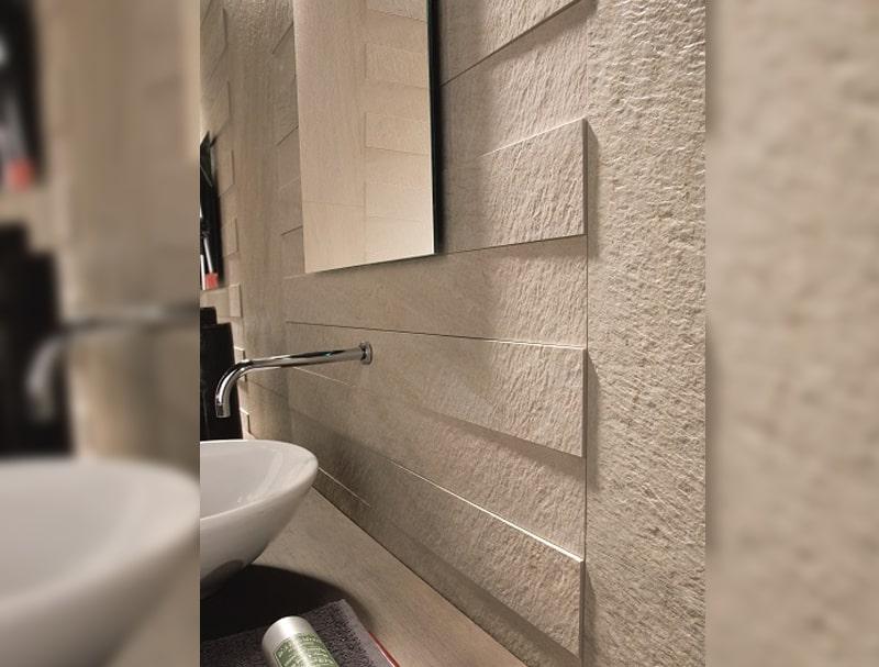 Paredes y suelos para decorar el cuarto de baño | Banium.com