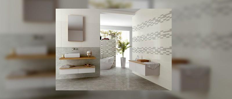 Paredes y suelos para decorar el cuarto de baño   Banium.com