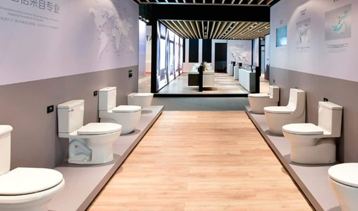 El diseño de baño español pisa suelo asiático - Banium
