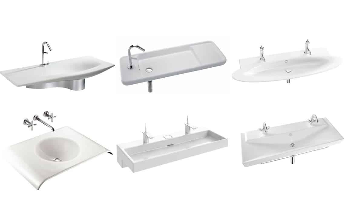 Dise os de lavabos planos de jacob delafon banium - Diseno de lavabos ...