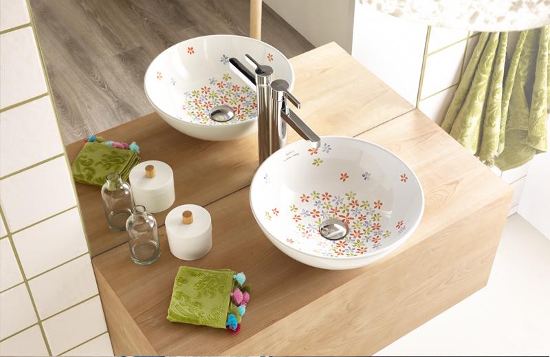 diseos de lavabos sobre encimera de bathco que inspiran vida camomila lavabos para bao