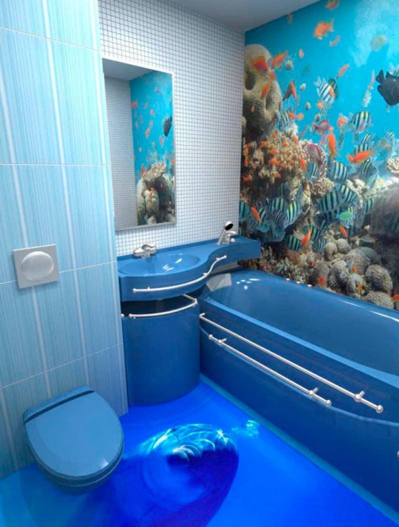 Suelos de cuartos de baño en 3D   Banium.com