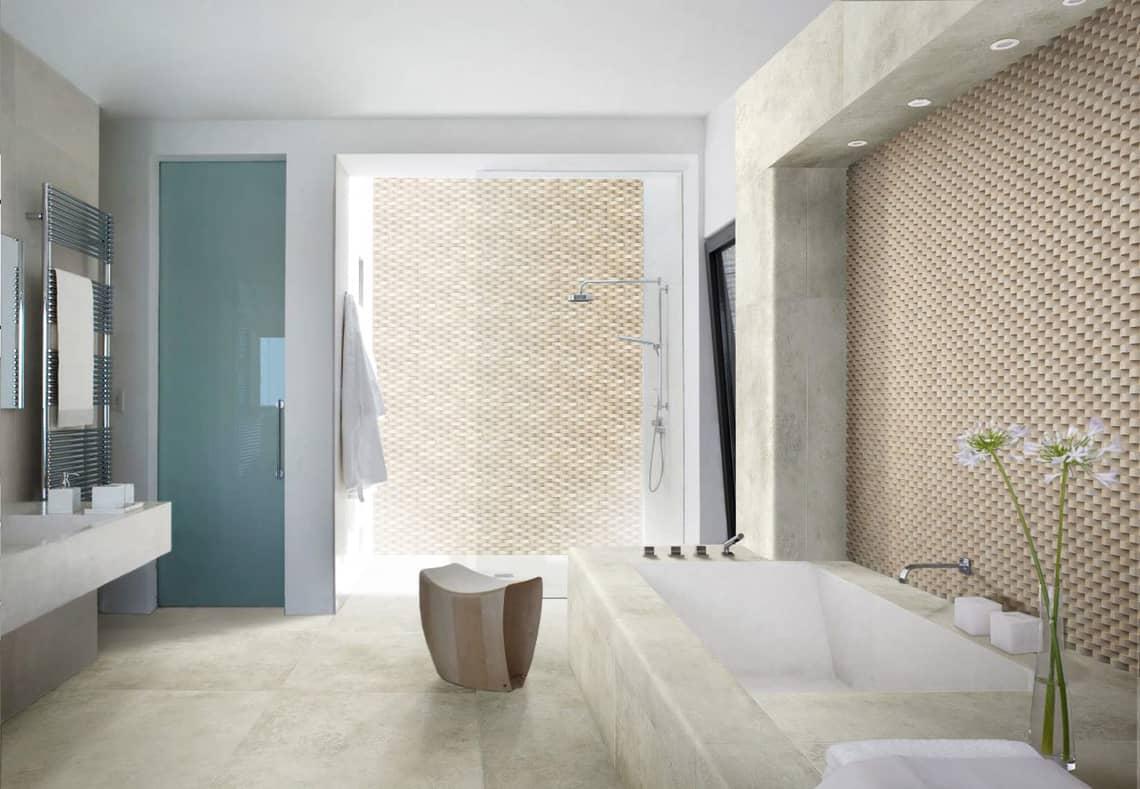 Baos con mosaicos finest renovacin bao mosaico azul en for Mosaicos banos modernos