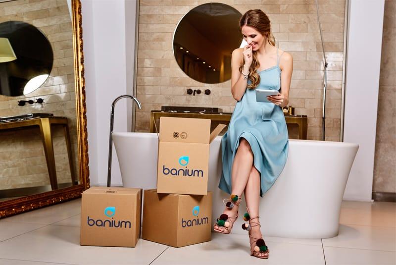 Vanesa Romero, la nueva imagen de Banium