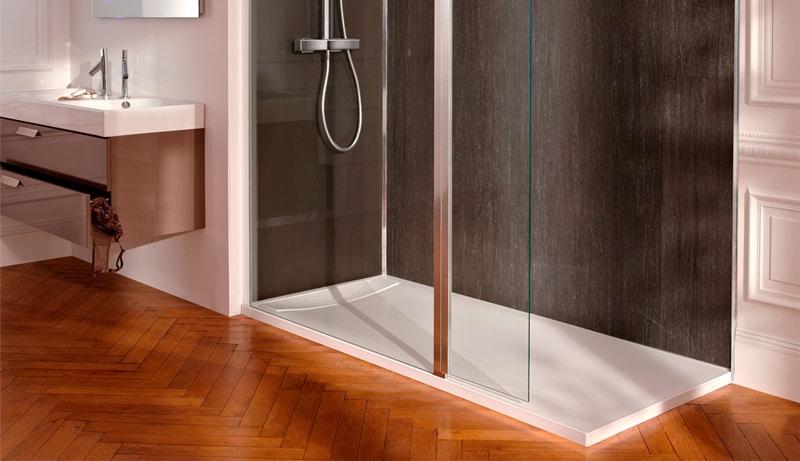 ventajas de los platos de ducha de carga mineral